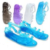 WOMAN SANDALS SIZE 5 - 10 ASSORTED COLORS
