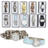 LADIES WATCH IN GIFT BOX ASSORTED STYLES