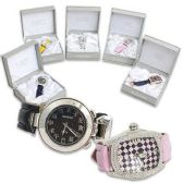 MENS WATCHES WITH RINESTONES ASST STYLES WITH GIFT BOX
