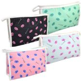 Cosmetic Bag Assorted Colors Large