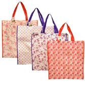 Shopping Bag Assorted Color & Design 18.5x19.7x6.7