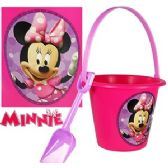 DISNEY'S MINNIE'S BOW-TIQUE SAND PAIL & SHOVEL SETS.