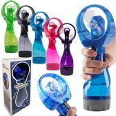 Battery Operated Water Misting Fans