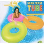 FROSTED NEON SWIM RINGS