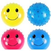 SMILEY FACE PEARLIZED KNOBBY BALLS