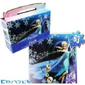 DISNEY FROZEN GIFT BOX PUZZLES.
