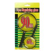 2 PIECE MAGNIFYING GLASS SETS
