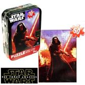 STAR WARS MINI JIGSAW PUZZLE TINS