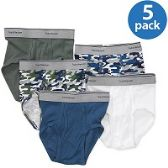 FRUIT OF THE LOOM BOY'S 5 PACK FASHION BRIEFS