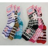 Womens Super Soft Fuzzy Socks Size 9-11