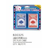 2 PIECE PLAYING CARD