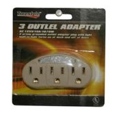 3 OUTLET ADAPTERS