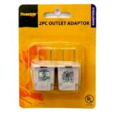 2PC OUTLET ADAPTOR