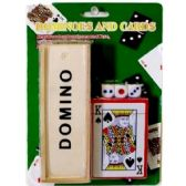 DOMINOES CARD DICES SET