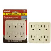 6 Outlet Wall Tap Adapter