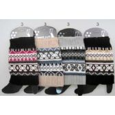 Wholesale Multi-color Patterned Knitted Boot Topper Leg Warmers