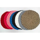Double Layer Knit Beret