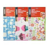 3 PieceMicroFiber Cleaning Cloth