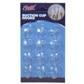 Suction Cup Hooks 12 Pack