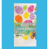 PLASTIC TABLE COVER 54 X 108 INCH EASTER