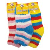 KIDS SNUGGLE SOCK STRIPED DESIGN