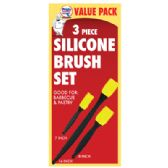 SILICONE BASTING BRUSH SET