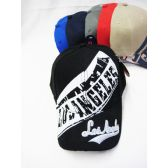 """""""Los Angeles"""" Base Ball Cap With Assorted Colors"""