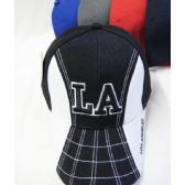 """""""Los Angeles"""" Base Ball Cap White On The Sides"""