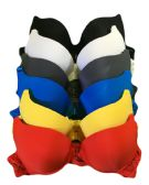 Gaiyi Ladys Front Snap Bra Assorted Colors SIze 34B