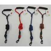 "48"" Nylon Pet Leash with Cushioned Grip"