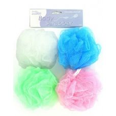 Body scrubber (assorted colors)