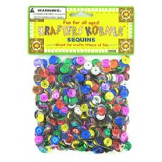 Assorted colors sequins