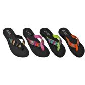 Ladies Beach Flip Flops