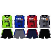 SPRING BOYS CLOSE MESH SHORT SETS Size NEWBORN