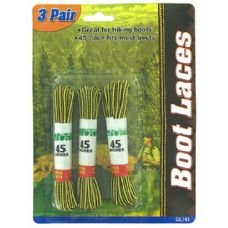3 Pair boot laces