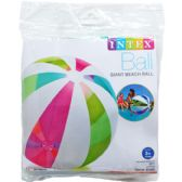 "42"" Giant Beach Ball In Pegable Poly Bag"