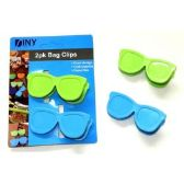Wholesale 2 Pack Novelty Snack Clips Sunglasses