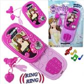 TOY CELL PHONES W/ SOUND & LIGHT.