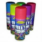 ASSORTED COLOR SILLY STRING