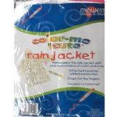 COLOR-ME CUTE RAIN JACKET/PONCHO FOR KIDS