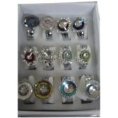 WOMEN'S ASSORTED BANGLE WATCHES WITH STONES