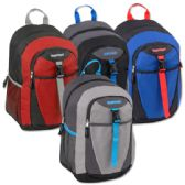 18 Inch Clip Pocket Backpacks With Padding- Boys
