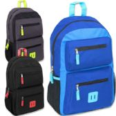 18 Inch Double Pocket Backpack - Boys
