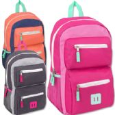 18 Inch Double Pocket Backpack - Girls