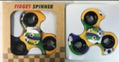 Wholesale Soccer Ball Turbo Graphic Fidget Spinners