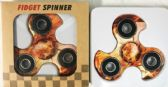 Wholesale Fire Basketball Graphic Turbo Fidget Spinners