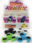 Wholesale Solid Color Turbo Shaped Fidget Spinner Display
