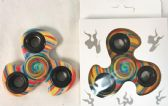 Wholesale Swirl Rainbow Candle Graphic Fidget Spinners