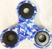 Wholesale Blue Camouflage Fidget Spinners