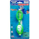 "6"" SWIMMING GOGGLES ON BLISTER CARD"